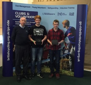 British Cycling Young Volunteers of the Year