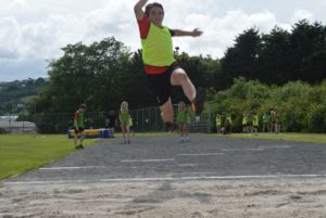 Sports Day Long Jump