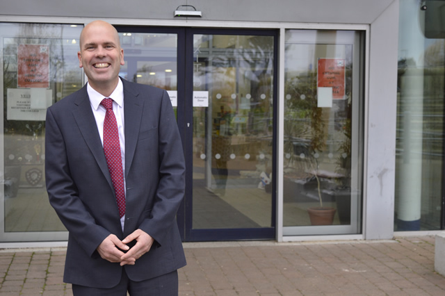 Paul Walker, Head teacher at Penryn College