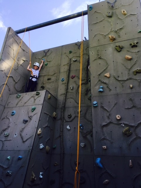 Climbing is just one part of Course 49 – Escape from Edventure Island. This summer holiday.
